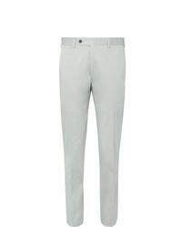 Мужские серые классические брюки от Canali