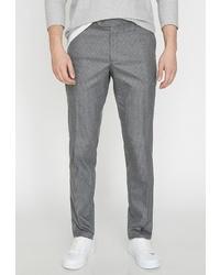 Мужские серые классические брюки от Koton