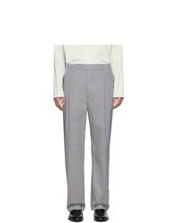 Мужские серые классические брюки от Lemaire