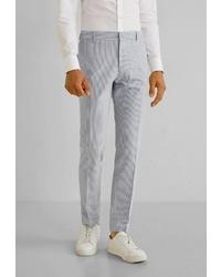 Мужские серые классические брюки от Mango Man