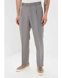 Мужские серые классические брюки от Mishelin