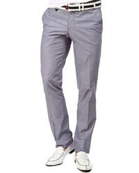 Мужские серые классические брюки от MONDIGO