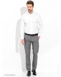 Мужские серые классические брюки от Oodji