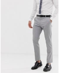 Мужские серые классические брюки от Selected Homme