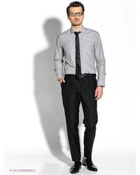 Мужские серые классические брюки от Strellson