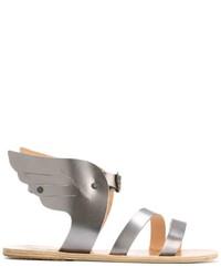 Мужские серые кожаные сандалии от Ancient Greek Sandals
