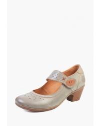 Серые кожаные туфли от Airbox