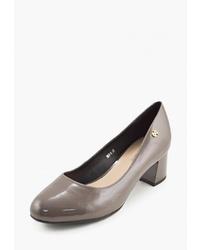 Серые кожаные туфли от Libellen