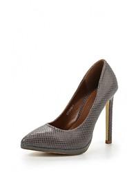 Серые кожаные туфли от Tulipano