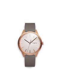 Мужские серые кожаные часы от Uniform Wares