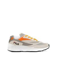 Мужские серые кроссовки от Fila