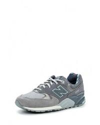 Женские серые кроссовки от New Balance