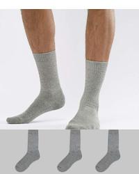 Мужские серые носки от Asos