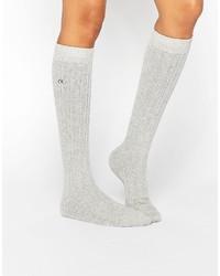 Женские серые носки от Calvin Klein