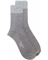 Мужские серые носки от Comme des Garcons