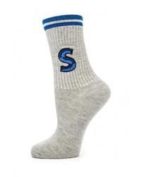 Женские серые носки от Topshop