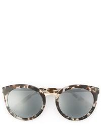 Женские серые солнцезащитные очки с принтом от Dolce & Gabbana