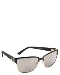 Женские серые солнцезащитные очки от Gucci