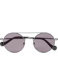 Мужские серые солнцезащитные очки от Moncler