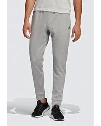 Мужские серые спортивные штаны от adidas