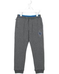 Детские серые спортивные штаны для мальчику от Armani Junior