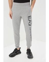 Мужские серые спортивные штаны от EA7