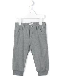 Детские серые спортивные штаны для мальчику от Il Gufo
