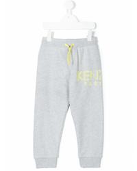 Детские серые спортивные штаны для мальчику от Kenzo