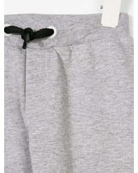 Детские серые спортивные штаны для мальчиков от Fendi