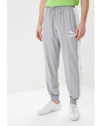 Мужские серые спортивные штаны от Puma