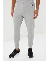 Мужские серые спортивные штаны от Reebok