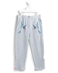 Детские серые спортивные штаны для мальчику от Stella McCartney