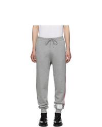 Мужские серые спортивные штаны от Thom Browne
