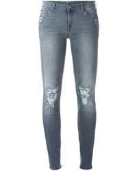 Серые джинсы женские купить