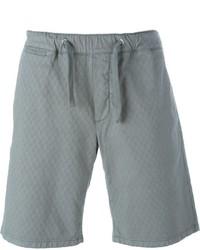 Мужские серые хлопковые шорты от Eleventy