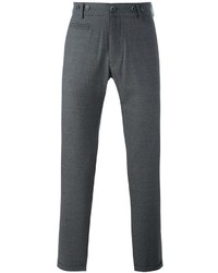 Серые шерстяные брюки чинос от Barena