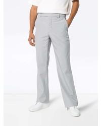 Серые шерстяные брюки чинос от Mackintosh 0002