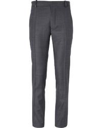 Мужские серые шерстяные классические брюки от J.W.Anderson