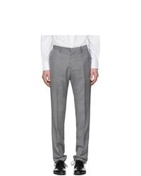 Мужские серые шерстяные классические брюки от Tiger of Sweden