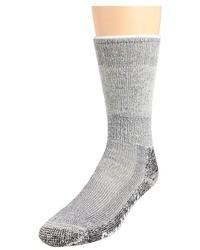 Серые шерстяные носки