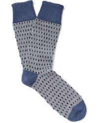 Мужские серые шерстяные носки от Corgi