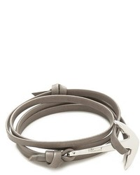 Серый браслет