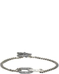 Мужской серый браслет от Pearls Before Swine