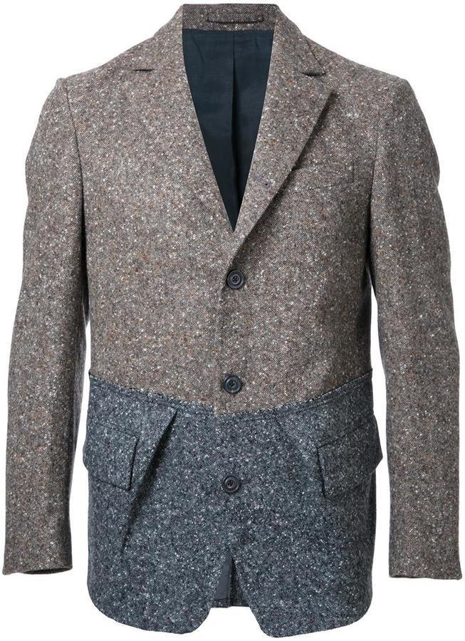 мужской серый вязаный пиджак 79 522 руб Farfetchcom лукастик