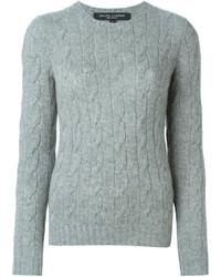 вязаный свитер medium 384208