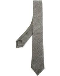 Мужской серый галстук от Thom Browne