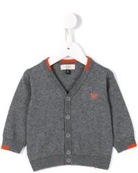 Детский серый кардиган для мальчику от Armani Junior