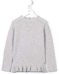Детский серый кашемировый свитер для девочке от Tartine et Chocolat