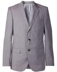 Серый костюм-тройка от Hugo Boss