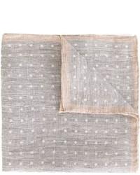 Серый нагрудный платок в горошек от Eleventy
